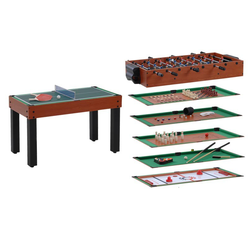 Table multi jeux 12 en 1 barres t l scopiques - Table multi jeux 12 en 1 ...
