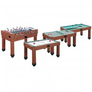 Table multi-jeux 9 en 1 Barres Traversantes GARLANDO