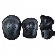 Set de protection Kids Noir Nextreme GRG-019