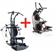 Pack Stepper Elliptique Bowflex Max trainer M5 + Appareil charge libre Bio Force Extreme