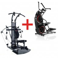 Pack Stepper Elliptique Bowflex Max trainer M3 + Appareil charge libre Bio Force Extreme