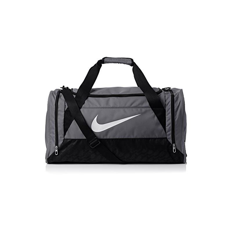 Nike Brasilia Sac à dos Flint Grey/Noir/Blanc Ginj1Nhr