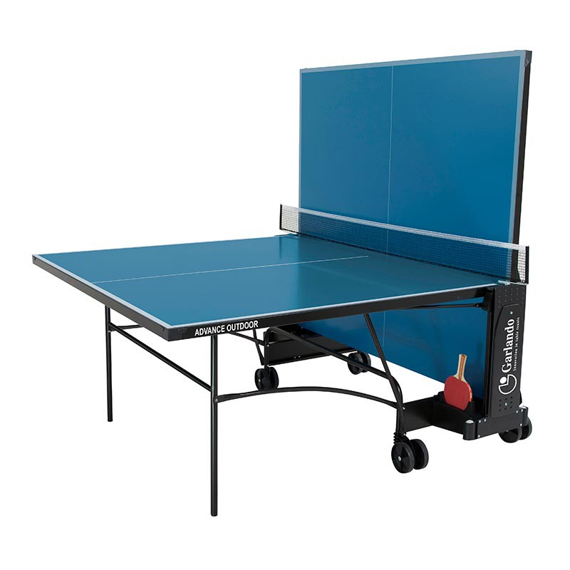tennis de table ext rieur garlando plateau bleu. Black Bedroom Furniture Sets. Home Design Ideas
