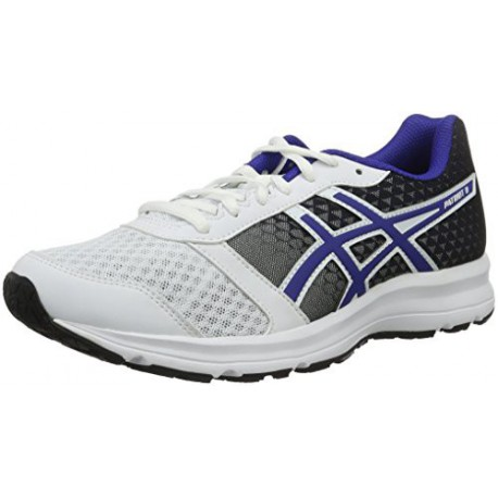 asics baskets chaussures running patriot 8 femme