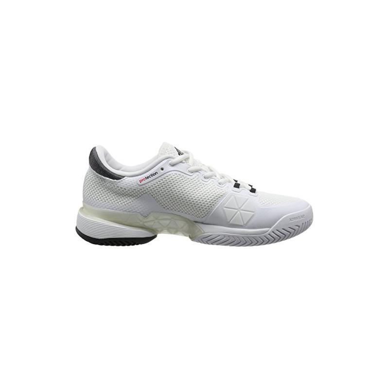 Tennis De Blanc Barricade Ftwr Mixte Adidas Chaussures Adulte 2017 UxHqT6Z