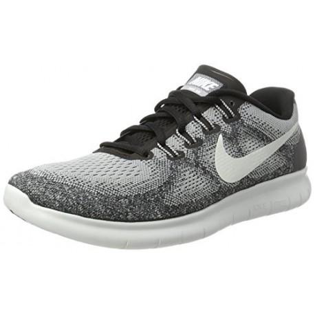 Nike Free Run 2017 Chaussures de Running Homme Gris (Wolf Grey/Off White  Pure Gris Platinum Black) 45 EU 2018