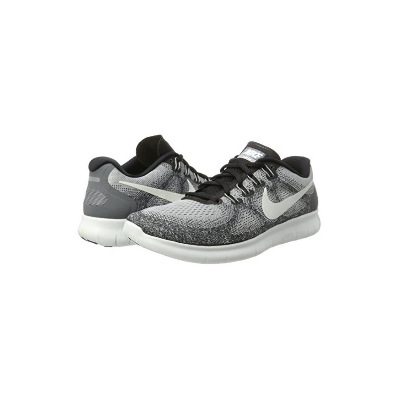 Nike Free Run 2017 Chaussures de Running Homme Gris (Wolf Grey/Off White  Pure Gris Platinum Black) ...