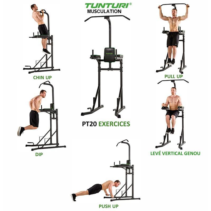Tour De Musculation PT20 Tunturi