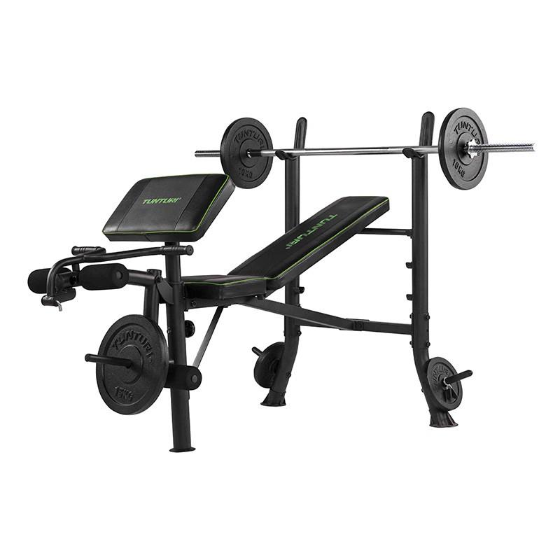 Banc De Musculation Avec Squat Rack Integre Wb40 Tunturi