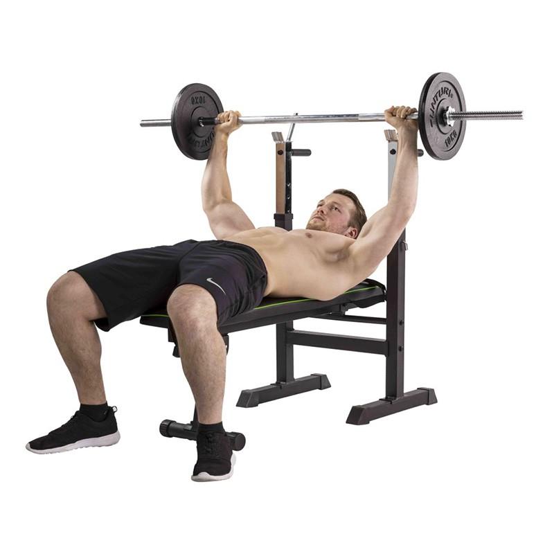 Banc de musculation pliable avec station dip WB20 Tunturi